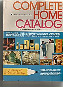 Complete Home catalog - copyright 1977 (Image1)