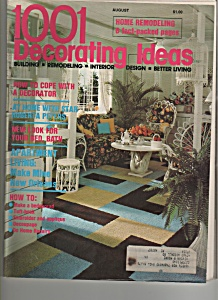 1001 decorating ideas - August - copyright 1977 (Image1)