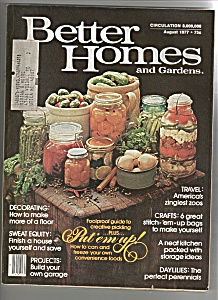 Better Homes and gardens -  August 1977 (Image1)