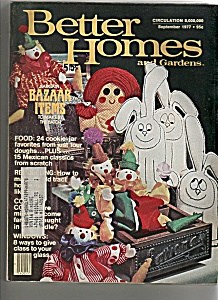 Better Homes and gardens - September 1977 (Image1)