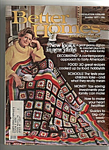Better Homes And Gardens - October 1977