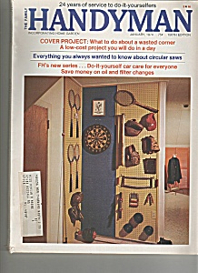 The Family Handyman - January 1974 (Image1)