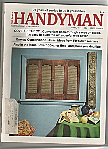 The Family Handyman -   April 1974 (Image1)
