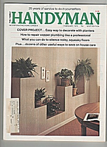 The Family Handyman - February 1975