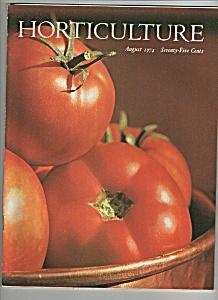 Horticulture magazine - August 1974 (Image1)