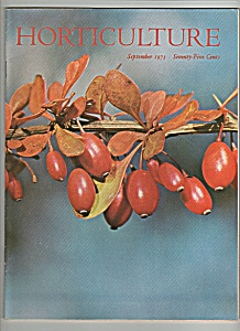 Horticulture magazine - September 1973 (Image1)
