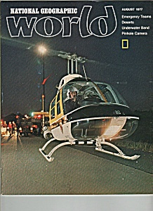 National Geographic World - August 1977