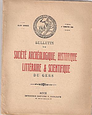 Societe, Archeologique, Historique - 4th trimestre 1946 (Image1)