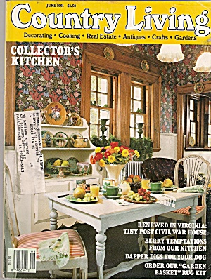 Country Living -  June 1991 (Image1)