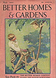 Better Homes & Gardens - May 1933