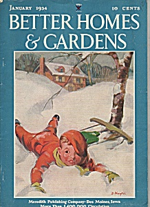 Better Homes & Gardens - January 1934 (Image1)
