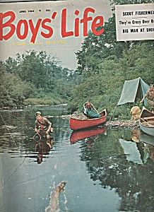 Boys Life magazine -  April 1962 (Image1)
