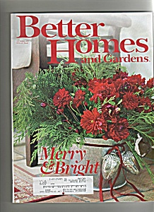 Better Homes And Gardens - December 2007