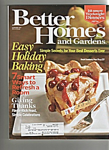 Better Homes and Gardens -  November 2007 (Image1)