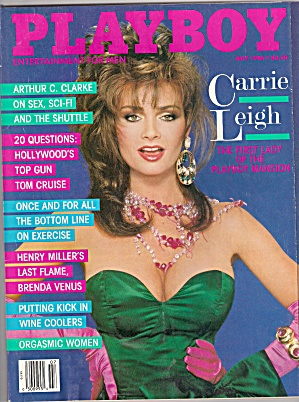 Playboy Magazine- July 1986