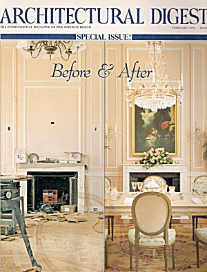 Architectural digest -  February 1996 (Image1)