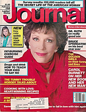 Ladies Home Journal -  February 1986 (Image1)
