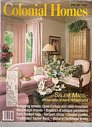 Colonial Homes -=  April 1987 (Image1)