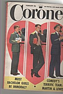 Coronet magazine -  February 1952 (Image1)