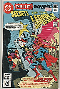 SEcrets of the Legion of super heroes -  March No. 3 (Image1)