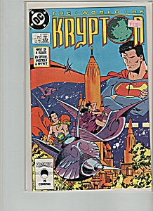 The world of Krypton comic -  Dec. 1987 (Image1)