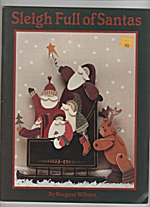 Sleigh full of Santas craft magazine- copyright 1995 (Image1)