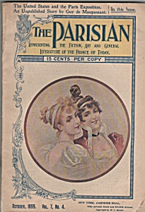The Parisian magazine- October 1899 (Image1)