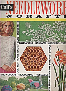 Mccall's Needlework & Crafts Ad Spring/summer 1972