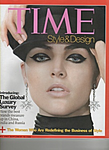 Time  sTyle & design magazine -  Fall 2007 (Image1)