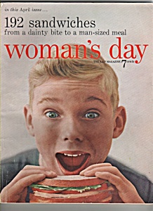 Woman's Day -  April 1955 (Image1)