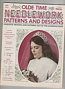 Olde time needlework patterns & designs -  1974 July (Image1)