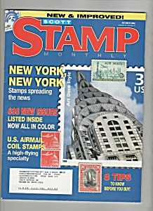 Scott Stamp Monthly magazine - October 2004 (Image1)