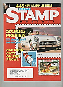 Scott Stamp Monthly - Novebmer 2004