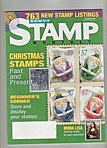 Scott Stamp Monthly - December 2004