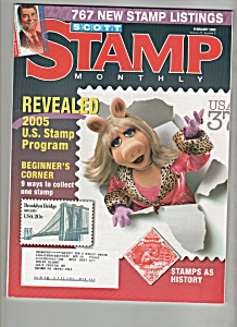 Scott Stamp Monthly magazine - February 2005 (Image1)