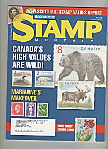 Scott's stamp monthly magazine-  My 2005 (Image1)