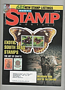 Scott's Stamp Monthly magazine -October 2005 (Image1)