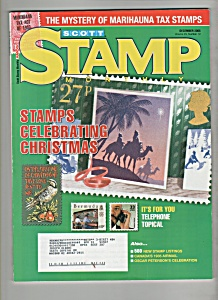 Scott stamp monthly magazine -  December 2005 (Image1)