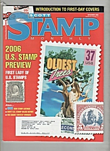 Scott Stamp Monthly magazine- November 2005 (Image1)