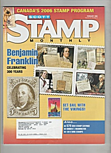 Scotdt Stamp Monthly  magazine -  February 2006 (Image1)