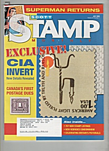 Scott Stamp monthly magazine -  July 2006 (Image1)