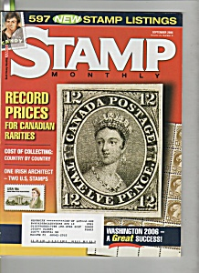 Scott stamp monthly magazine -  September 2006 (Image1)