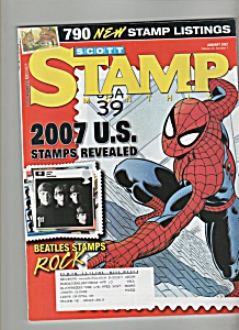 Scott Stamp Monthly magazine - January 2007 (Image1)