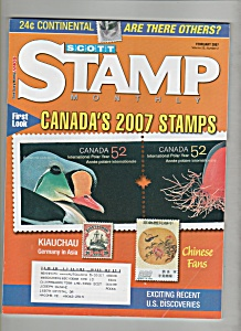 Scott Stamp Monthly magazine - February 2007 (Image1)