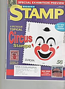 Scott stamp monthly magazine - August 2007 (Image1)