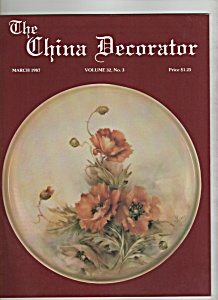 The China Decorator -  March 1987 (Image1)