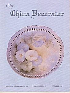 The China Decoratoer - October 1981