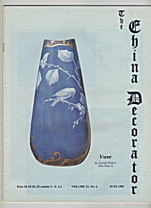 The China Decorator -  June 1982 (Image1)