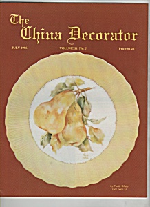 The China Decorator - July 1986