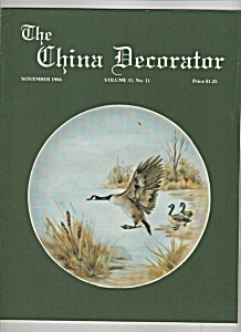 The China Decorator - November 1986 (Image1)
